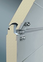 LPU40 42mm double skinned insulated garage door panels